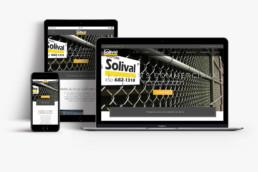 Site Internet pour Clôture Solival